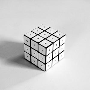 cubo de letras