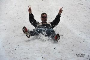 esquibunda na neve